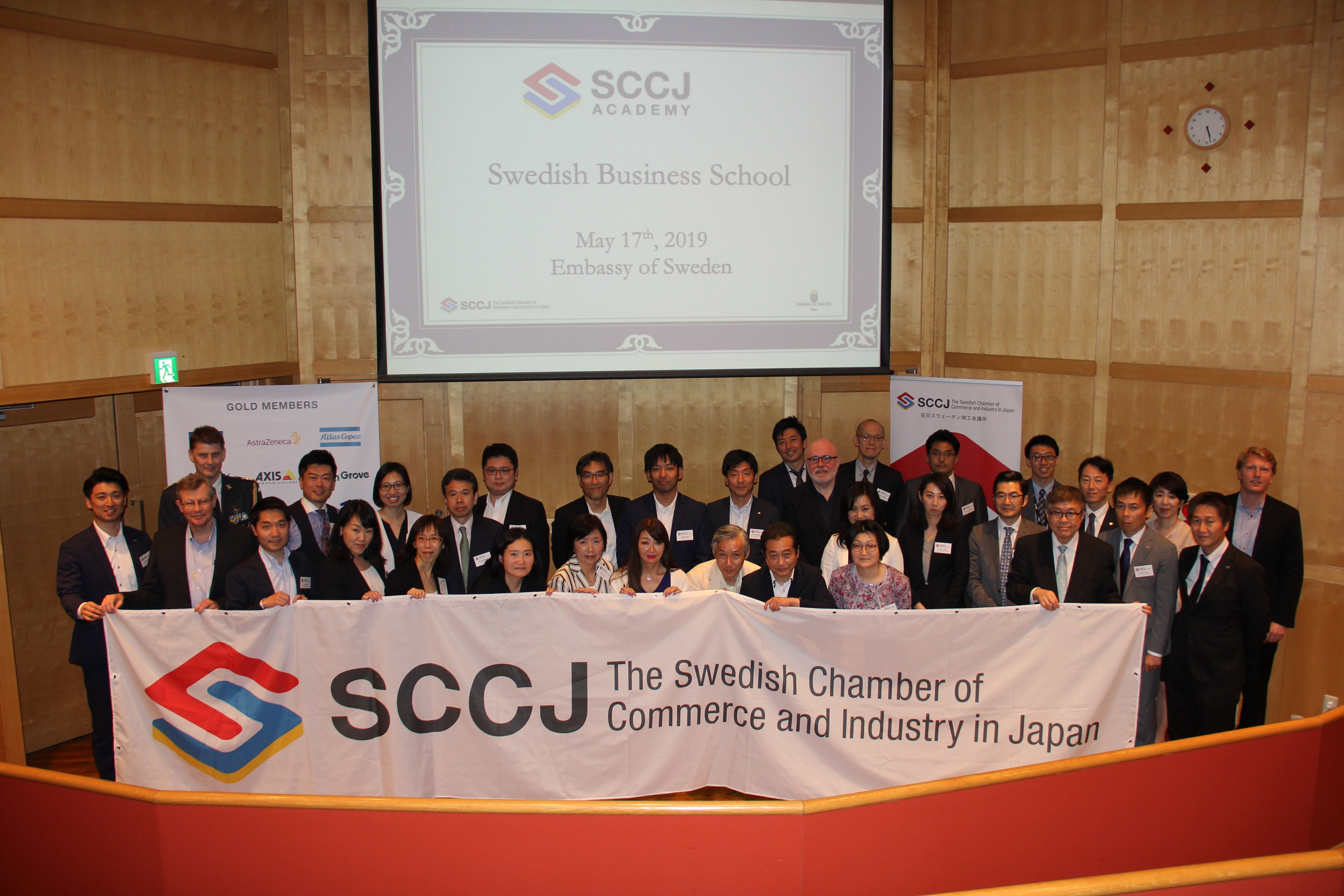 Report: SCCJ Academy - Swedish Business School 2019 Spring