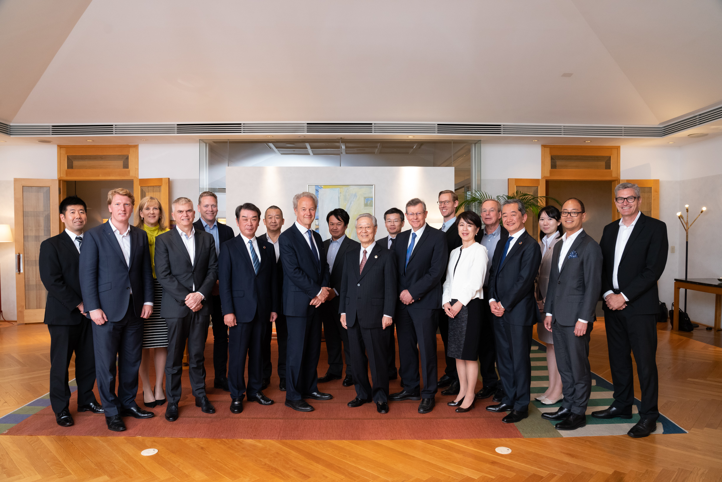 Report: Ambassador's CEO Advisory Board with the Chairman of Keidanren
