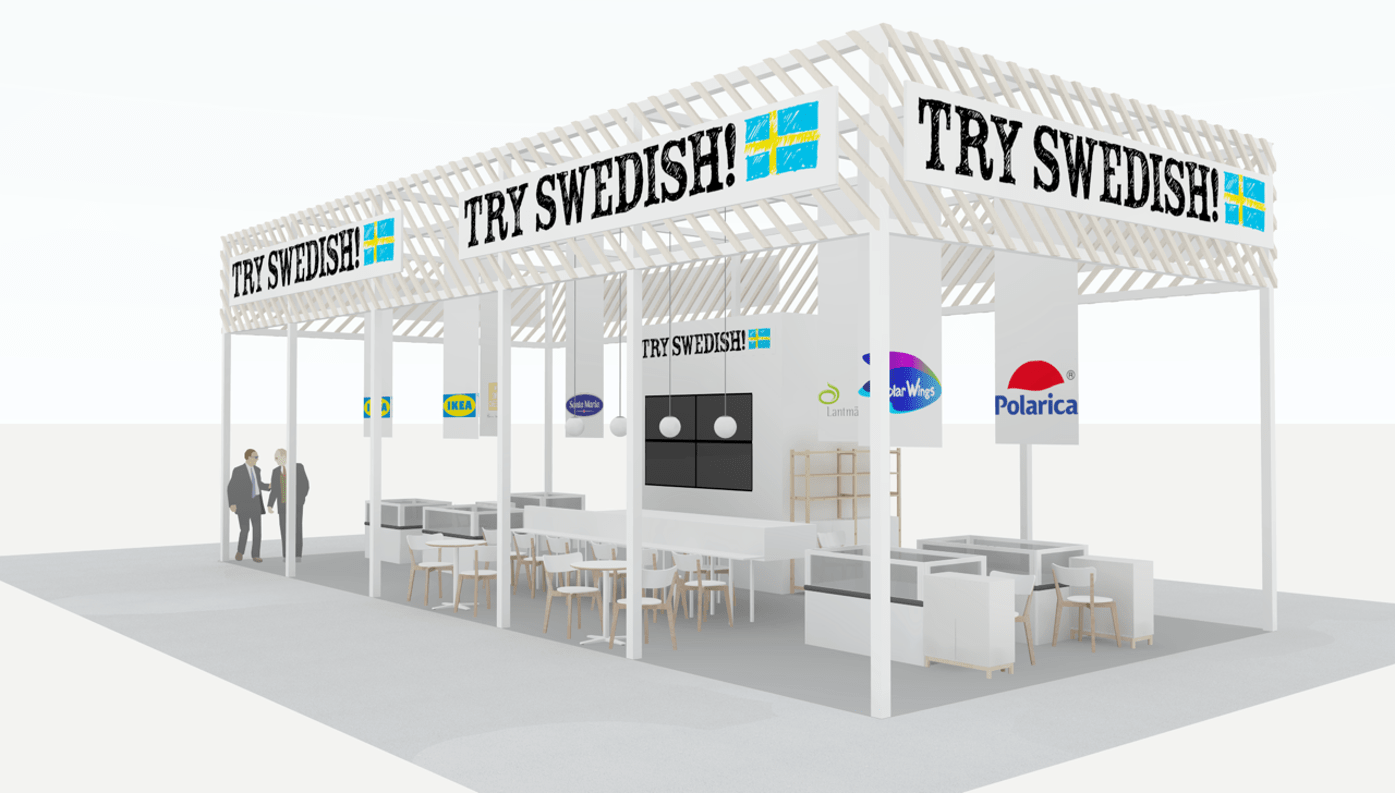 """TRY SWEDISH!"" Swedish Pavilion exhibiting FOODEX Japan 2019 (March 5th ~ 8th)"