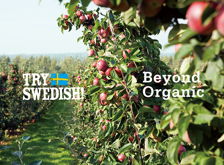 "Try Swedish! launched ""Beyond Organic"" campaign"